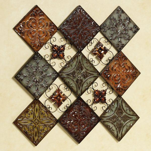 Wall Art Design Ideas : Medallion Tiles Wall Art – Great Medallion With Medallion Tiles Wall Art (Image 12 of 20)