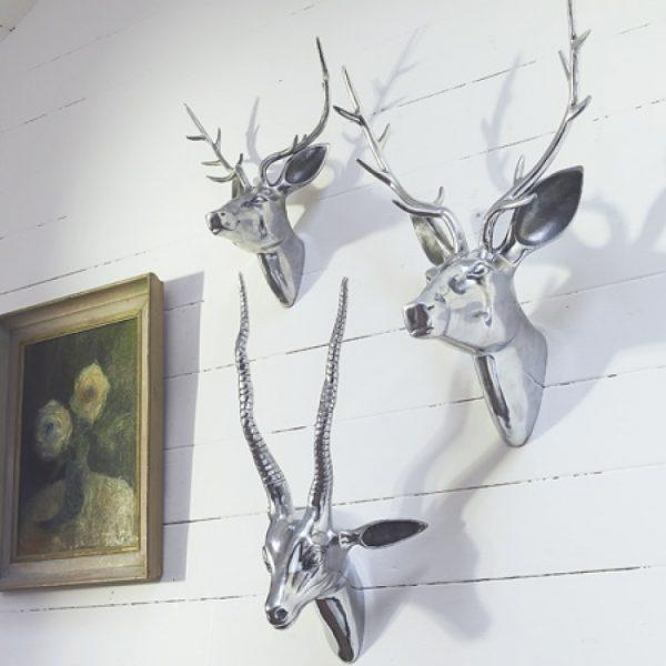 Wall Art Design Ideas : Metal Animal Heads Wall Art – New Metal With Regard To Metal Animal Heads Wall Art (View 20 of 20)