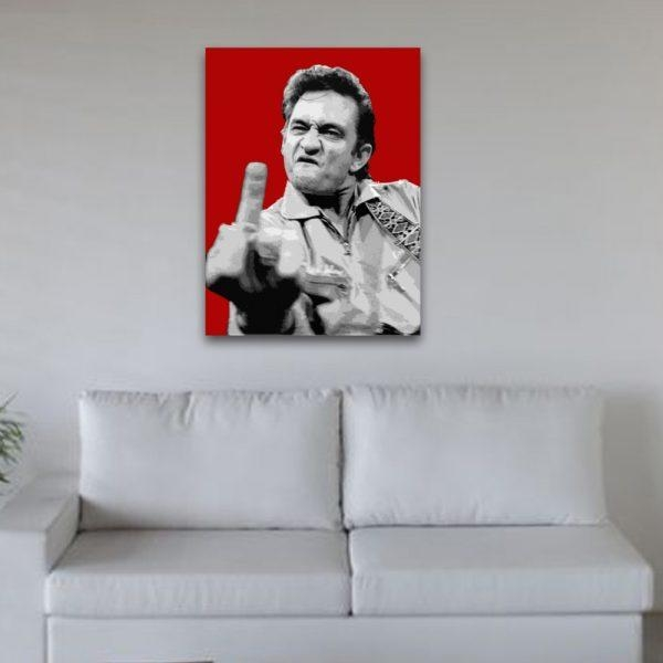 Wall Art Design Ideas: New Johnny Cash Wall Art 68 For Your Metal Regarding Johnny Cash Wall Art (Image 20 of 20)