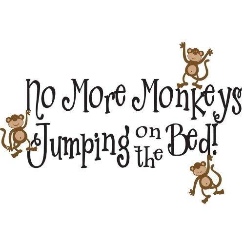Wall Art Design Ideas : No More Monkeys Jumping On The Bed Wall Intended For No More Monkeys Jumping On The Bed Wall Art (Photo 3 of 20)