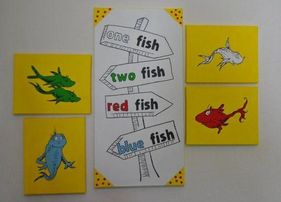Wall Art Design Ideas: Nursery Room Dr Suess Wall Art Counting Pertaining To Dr Seuss Canvas Wall Art (Image 16 of 20)
