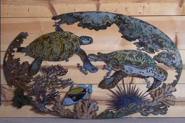 Wall Art Design Ideas : Outdoor Metal Turtle Wall Art – Perfect For Outdoor Metal Turtle Wall Art (Image 15 of 20)