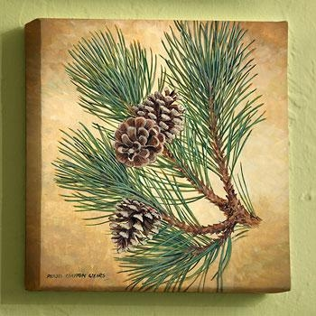 Wall Art: Pine Cone Wall Art (#11 of 20 Photos)