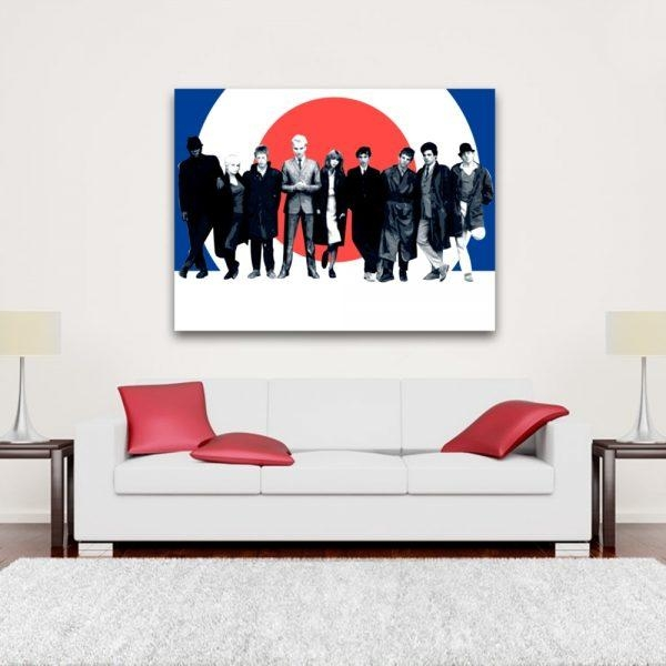 Wall Art Design Ideas : Quadrophenia Wall Art – Amusing With Regard To Quadrophenia Wall Art (Image 20 of 20)