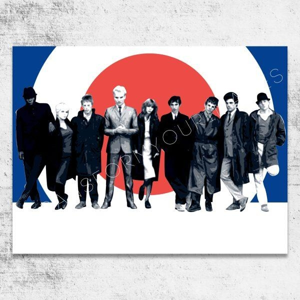 Wall Art Design Ideas : Quadrophenia Wall Art – Amusing With Regard To Quadrophenia Wall Art (Image 19 of 20)