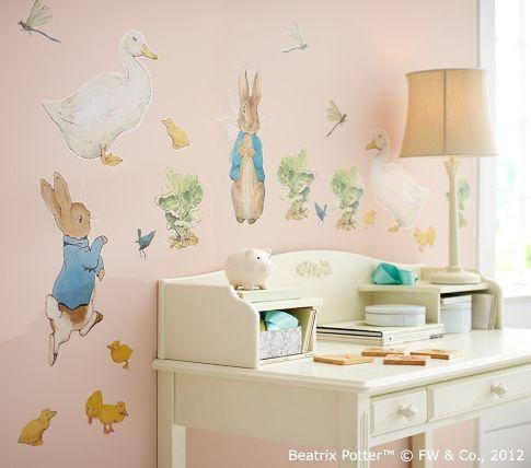 Wall Art Design Ideas: Stunning Peter Rabbit Nursery Wall Art 67 Intended For Peter Rabbit Nursery Wall Art (View 2 of 20)