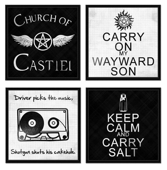 Wall Art Design Ideas : Supernatural Wall Art – Epic Supernatural Intended For Supernatural Wall Art (Image 17 of 20)