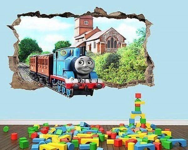Wall Art Design Ideas : Thomas The Tank Wall Art – Amusing Thomas Pertaining To Thomas The Tank Wall Art (Image 17 of 20)