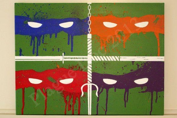 Wall Art Design Ideas : Tmnt Wall Art – Trend Tmnt Wall Art 15 In Pertaining To Tmnt Wall Art (Image 19 of 20)