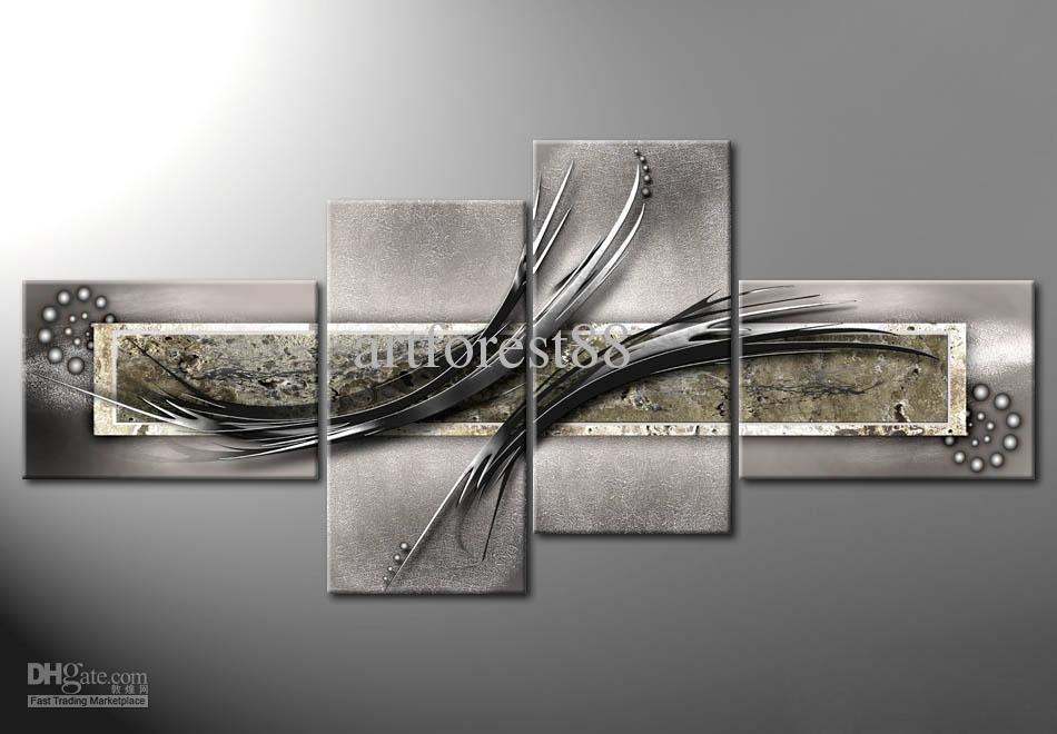 Wall Art Design Ideas: Vibration Abstract Large Modern Wall Art Within Large Modern Wall Art (Image 14 of 20)