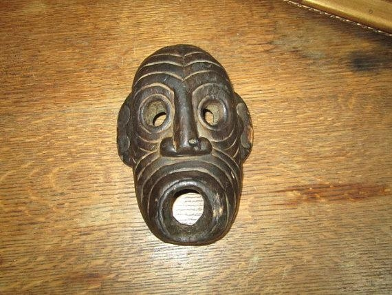 Featured Image of Wooden Tribal Mask Wall Art