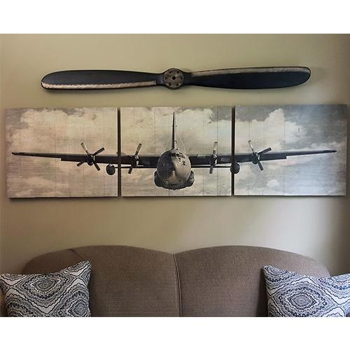 Wall Art Designs: Aviation Wall Art Hercules Wooden Aviation Throughout Metal Airplane Wall Art (View 19 of 20)