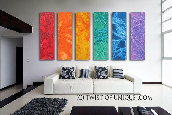 Wall Art Designs: Awesome Shop The Latest Colorful Abstract Wall With Colorful Abstract Wall Art (Image 20 of 20)