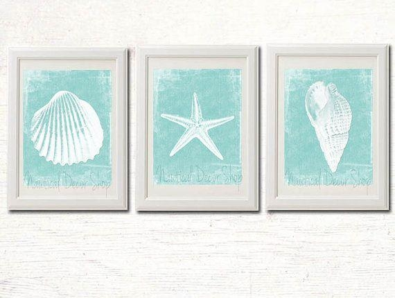 Wall Art Designs: Beach Wall Art Printable Beah Decor Bathroom Intended For Beach Themed Wall Art (Image 19 of 20)