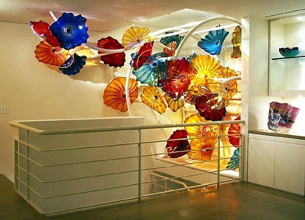 Wall Art Designs: Blown Glass Wall Art Handblown Glass Wall Art For Viz Glass Wall Art (Image 14 of 20)