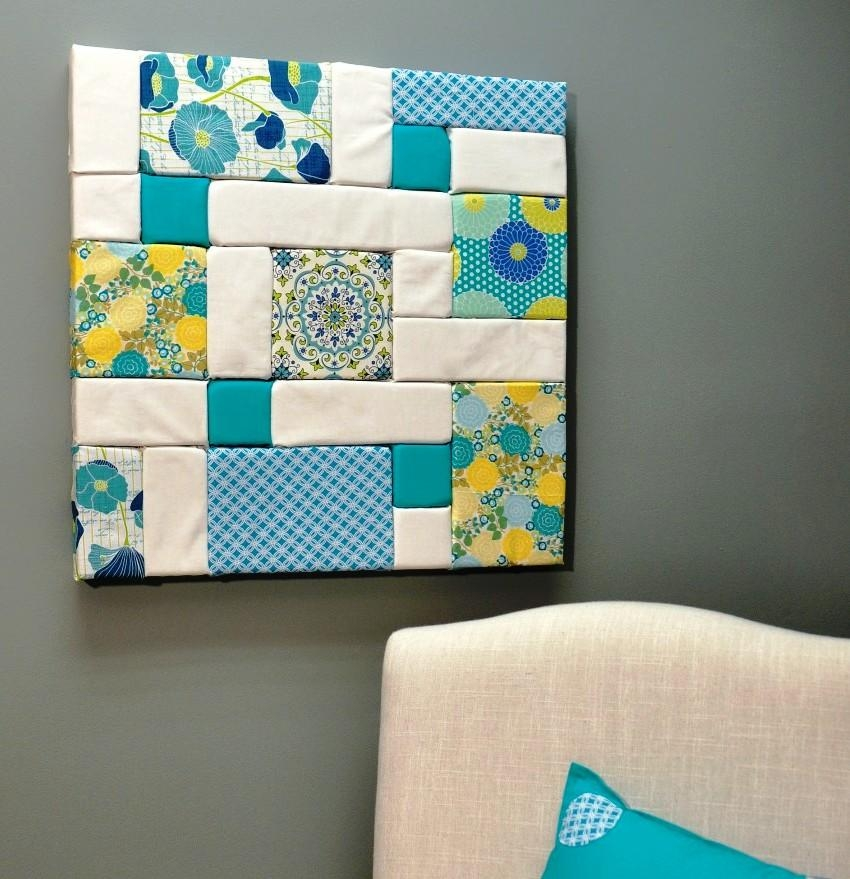 Wall Art Designs: Fabric Wall Art Diy Foam Craft Projects Ideas Within Styrofoam Wall Art (View 13 of 20)