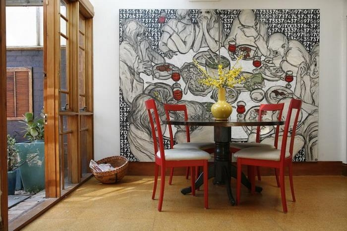 Wall Art Designs: Impressive Works Murals Wall Art Decor Using Within Abstract Art Wall Murals (View 4 of 20)