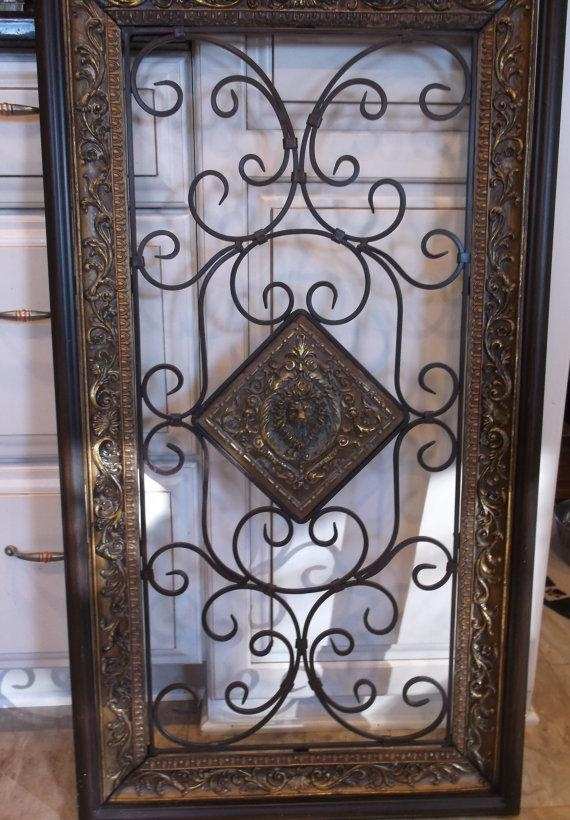 Featured Image of Large Wrought Iron Wall Art