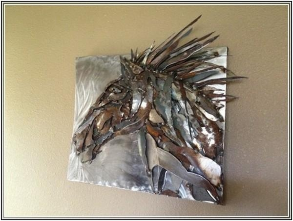 Wall Art Designs: Large Metal Wall Art Sculpture Extra Large Horse Within Large Metal Wall Art Sculptures (Image 19 of 20)
