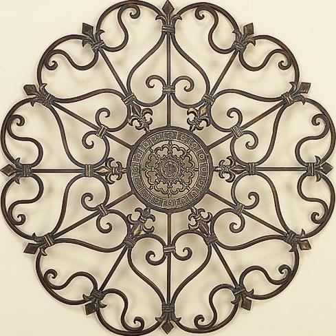 Wall Art Designs: Metal Outdoor Wall Art Outdoor Wrought Iron Pertaining To Outdoor Wrought Iron Wall Art (Image 15 of 20)