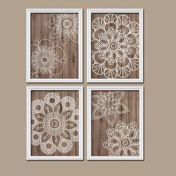 Wall Art Designs: Nice Medallion Wall Art, Large Metal Medallion With Regard To White Medallion Wall Art (Image 14 of 20)