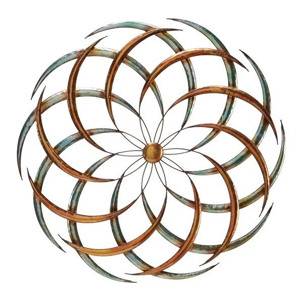 Wall Art Designs: Outdoor Wall Art Shining Sun Garden Works Home Within Metal Wall Art For Outdoors (Image 20 of 20)