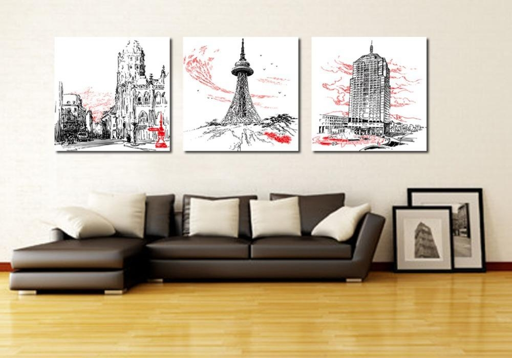 Wall Art Designs: Perfect Designing 3 Piece Modern Wall Art With Multi Piece Canvas Wall Art (View 20 of 20)