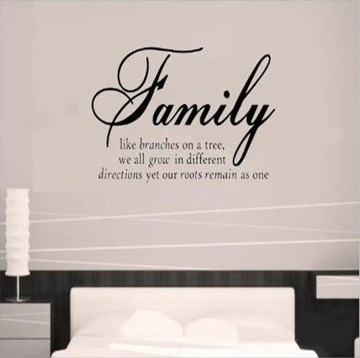 Wall Art Designs: Quote Wall Art Wall Art Quotes Vinyl Wall Art Pertaining To Family Sayings Wall Art (Image 19 of 20)