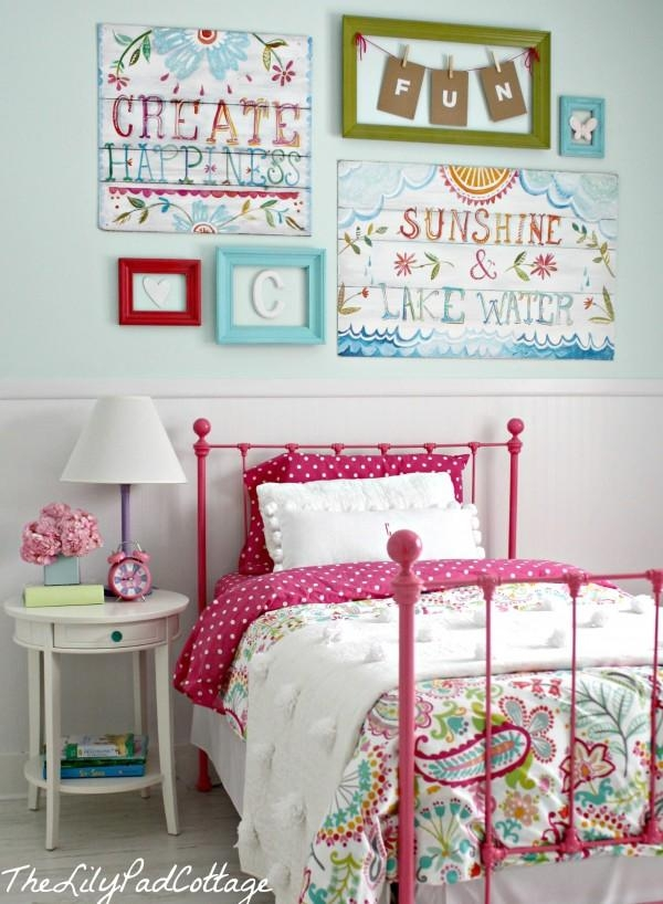 Wall Art Designs: Remarkable Wall Art Girls Room With Cute Inside Wall Art For Little Girl Room (View 7 of 20)