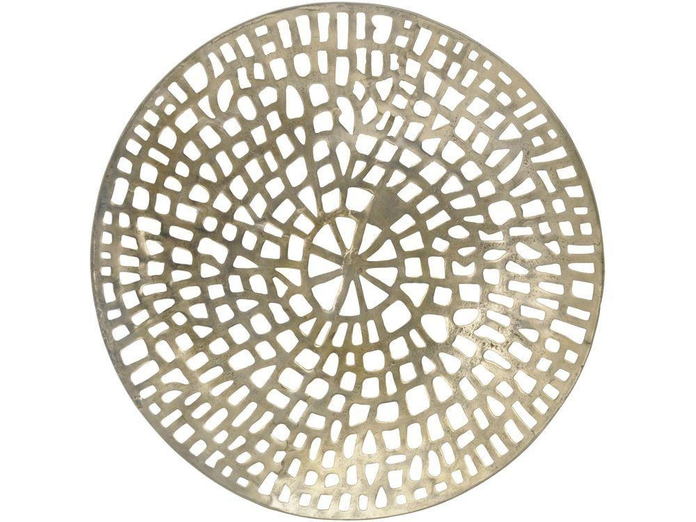 Wall Art Designs: Round Metal Wall Art Coral Cage Round Wall Throughout Large Round Metal Wall Art (Image 14 of 20)
