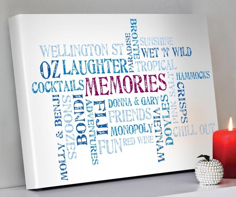 Wall Art Designs: Spectacular Available Designs Typography Canvas Within Typography Canvas Wall Art (View 3 of 20)