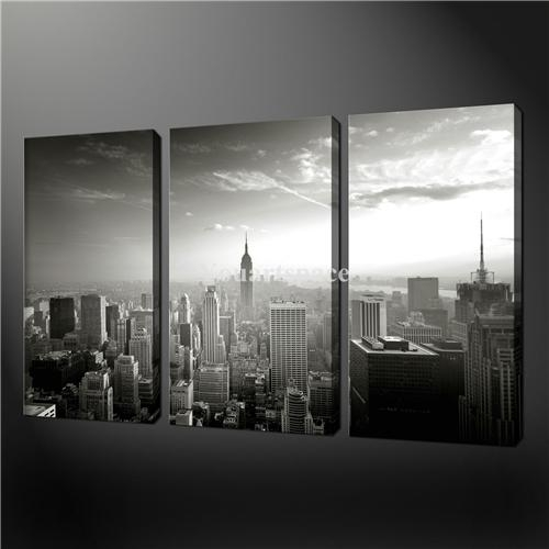 Wall Art Designs: Stunning Ny Wall Art Stickers Picture Of City For Black And White New York Canvas Wall Art (Image 17 of 20)