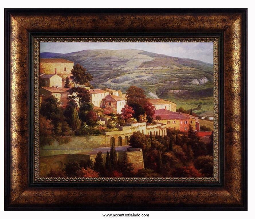 Wall Art Designs: Tuscan Wall Art Tuscan Way Framed Art Print At With Regard To Italian Wall Art Prints (Image 17 of 20)