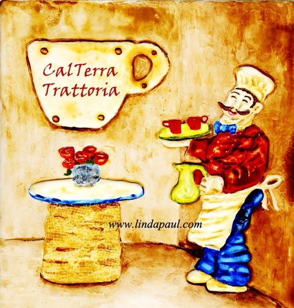 Wall Art For Restaurants And Hotels – Original Artwork And Tiles Within Italian Chef Wall Art (Image 16 of 20)