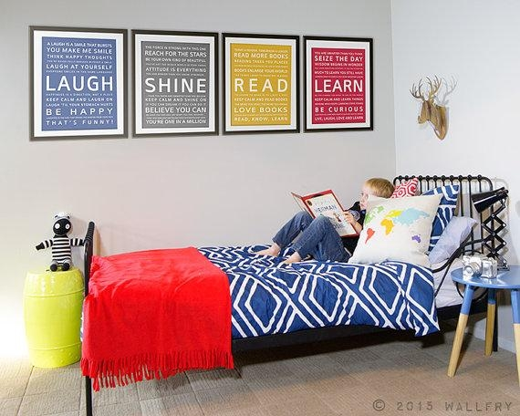 Wall Art For Teens. Teenager Room Decor (Image 18 of 20)