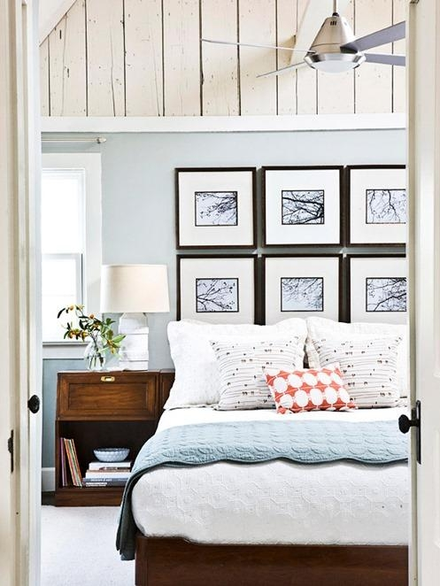 Wall Art Ideas For Over The Bed In Wall Art Over Bed (View 10 of 20)
