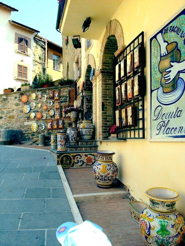 Featured Image of Italian Ceramic Outdoor Wall Art