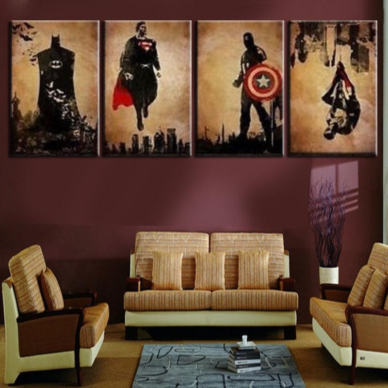 Wall Art: New Released Cool Wall Art For Guys Cool Paintings For Intended For Wall Art For Guys (View 16 of 20)