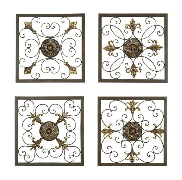 Wall Art ~ Ooo What A Great Idea Using The Wrought Iron To Regarding Italian Iron Wall Art (Image 17 of 20)