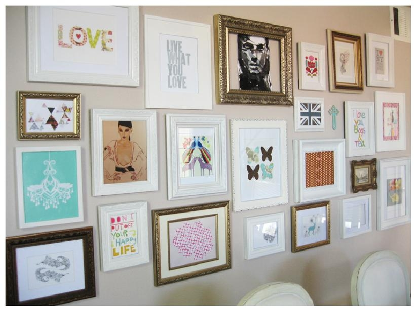Wall Art Picture | Wallartideas With Regard To Wall Art Frames (Image 20 of 20)
