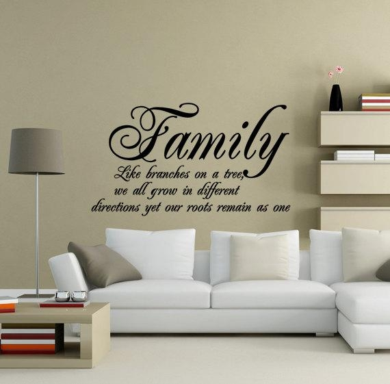 Wall Art Quotes | Roselawnlutheran In Family Sayings Wall Art (Image 20 of 20)