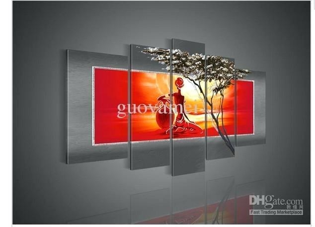 Wall Art ~ Split Panel Canvas Wall Art Panel Wall Art The Fire Pertaining To Split Wall Art (View 9 of 20)