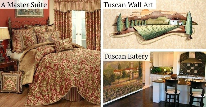 Wall Art ~ Tuscan Style Wall Art Tuscan Style Outdoor Wall Art Old Inside Italian Style Metal Wall Art (Image 11 of 20)