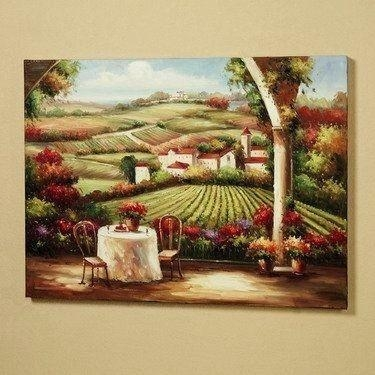 Wall Art ~ Tuscan Style Wall Art Tuscan Style Outdoor Wall Art Old Throughout Italian Outdoor Wall Art (Image 12 of 20)