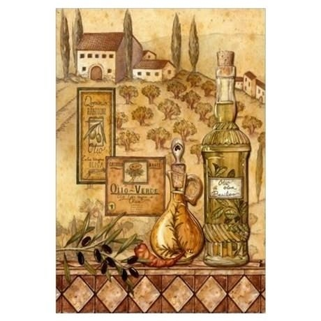 Wall Art ~ Tuscan Wall Art Decor Tuscan Metal Wall Art Decor Intended For Italian Wall Art Stickers (Image 9 of 20)