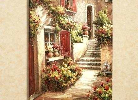 Wall Art ~ Tuscan Wall Art Decor Tuscan Metal Wall Art Decor Pertaining To Italian Wall Art Stickers (Image 11 of 20)
