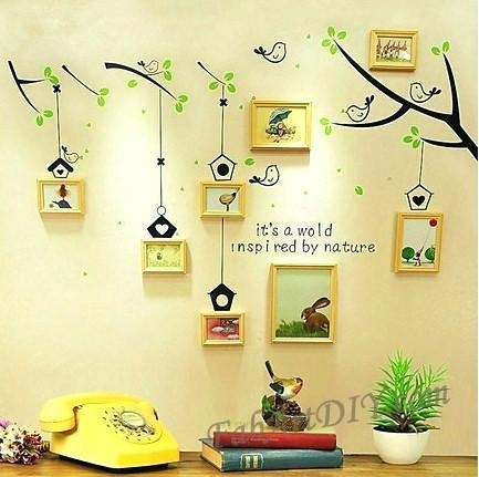 Wall Art ~ Wall Art Using Picture Frames Diy Wall Art With Picture Pertaining To Wall Art Frames (Image 12 of 20)
