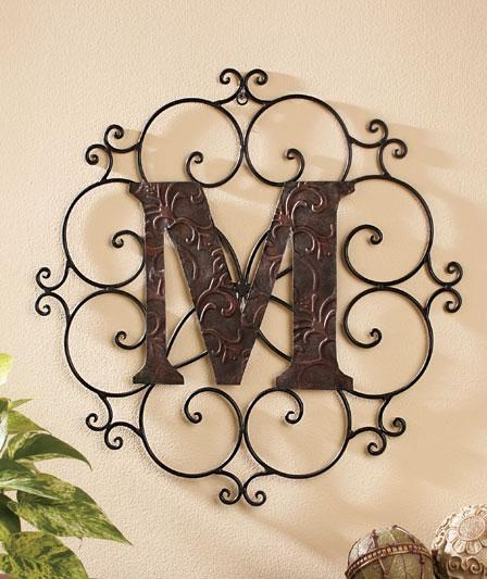 Wall Art, Wall Signs, Wall Plaques & Photo Collage Frames | Ltd For Monogram Metal Wall Art (View 4 of 20)