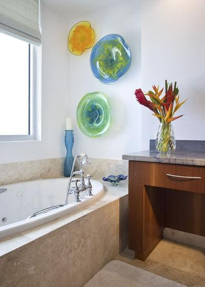Wall Candy: Dish Up Colorful Glass Art Plates Inside Viz Glass Wall Art (Image 19 of 20)
