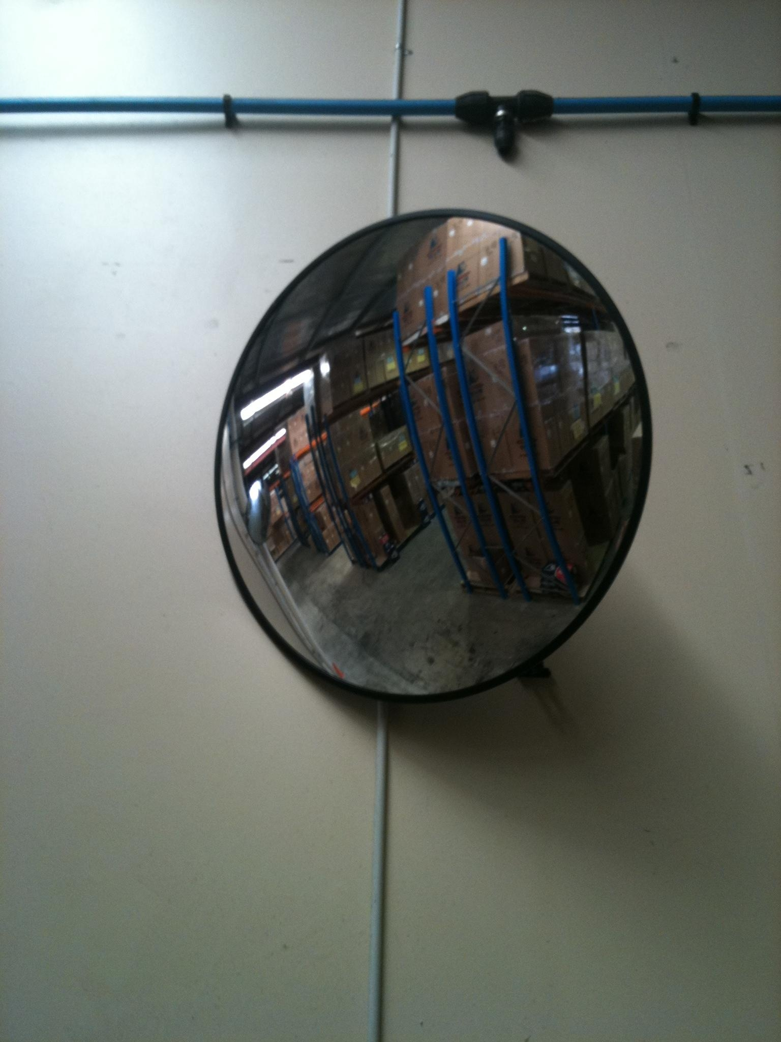 Wall Conve Mirror Providing Wide View And – Amys Office Throughout Hallway Safety Mirrors (Image 20 of 20)